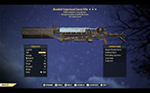 Bloodied [Explode+15% FR] Gauss Rifle